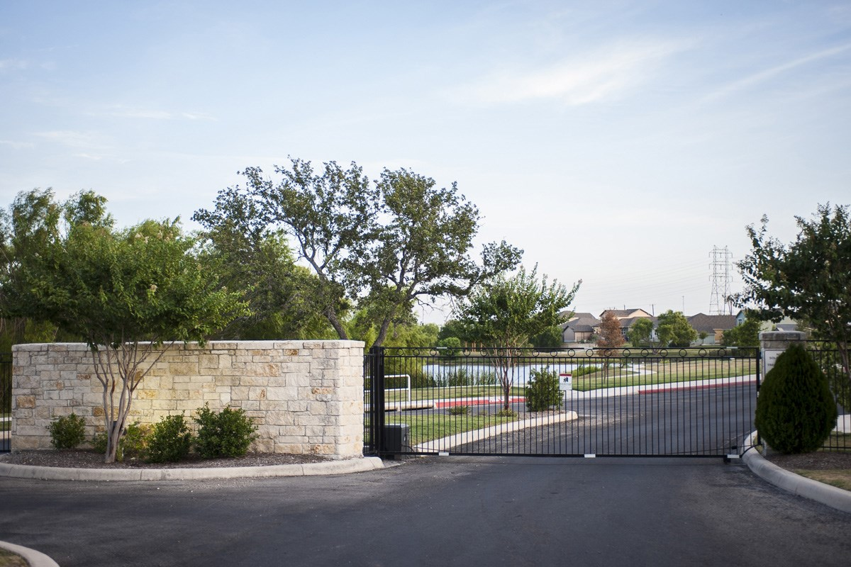 New Homes in San Antonio, TX - Lakeview Community Walking Path