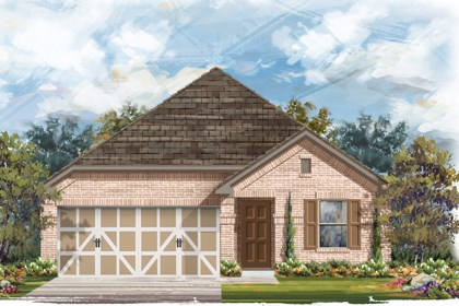 New Homes in Boerne, TX - Plan 1647 B
