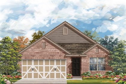 New Homes in Boerne, TX - Plan 1647 C