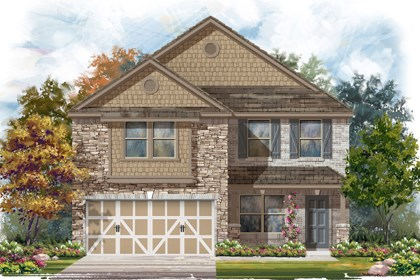 New Homes in Boerne, TX - Plan 2177 D