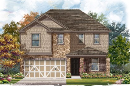 New Homes in Boerne, TX - The 2403 D