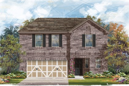 New Homes in Boerne, TX - Plan 2412 B