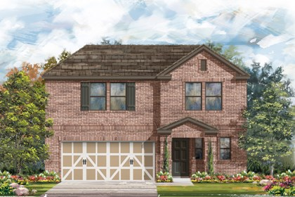 New Homes in Boerne, TX - Plan 2412 C