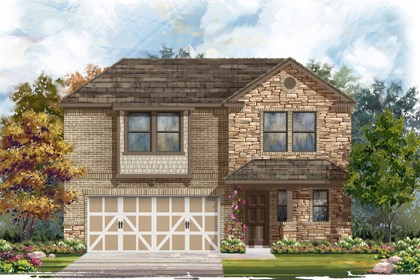 New Homes in Boerne, TX - Plan 2412 D
