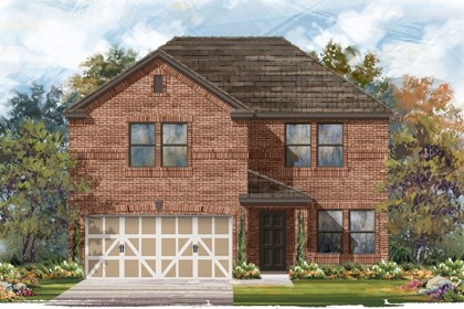 New Homes in Boerne, TX - The 2561 B