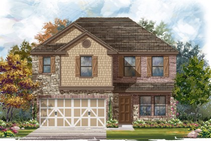 New Homes in Boerne, TX - The 2561 D