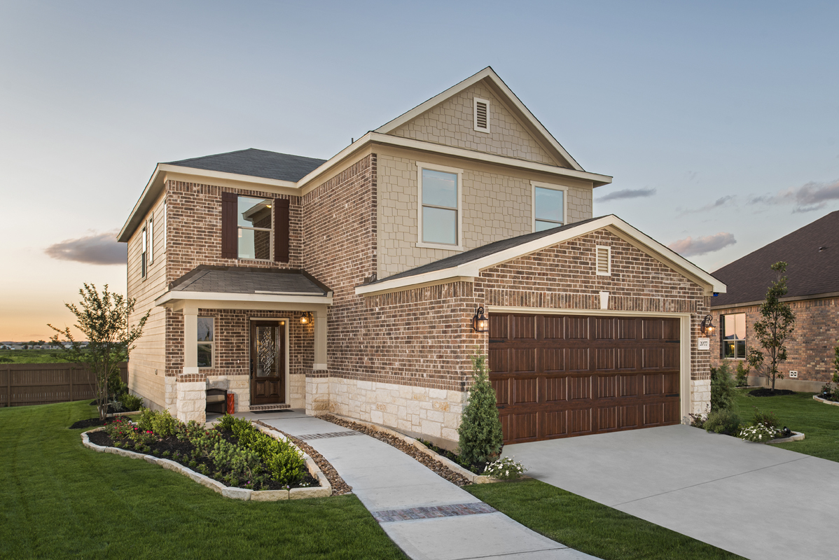 New Homes in New Braunfels TX - West Village at Creekside - Heritage Collection The & New Homes for Sale in New Braunfels TX - West Village Heritage ...