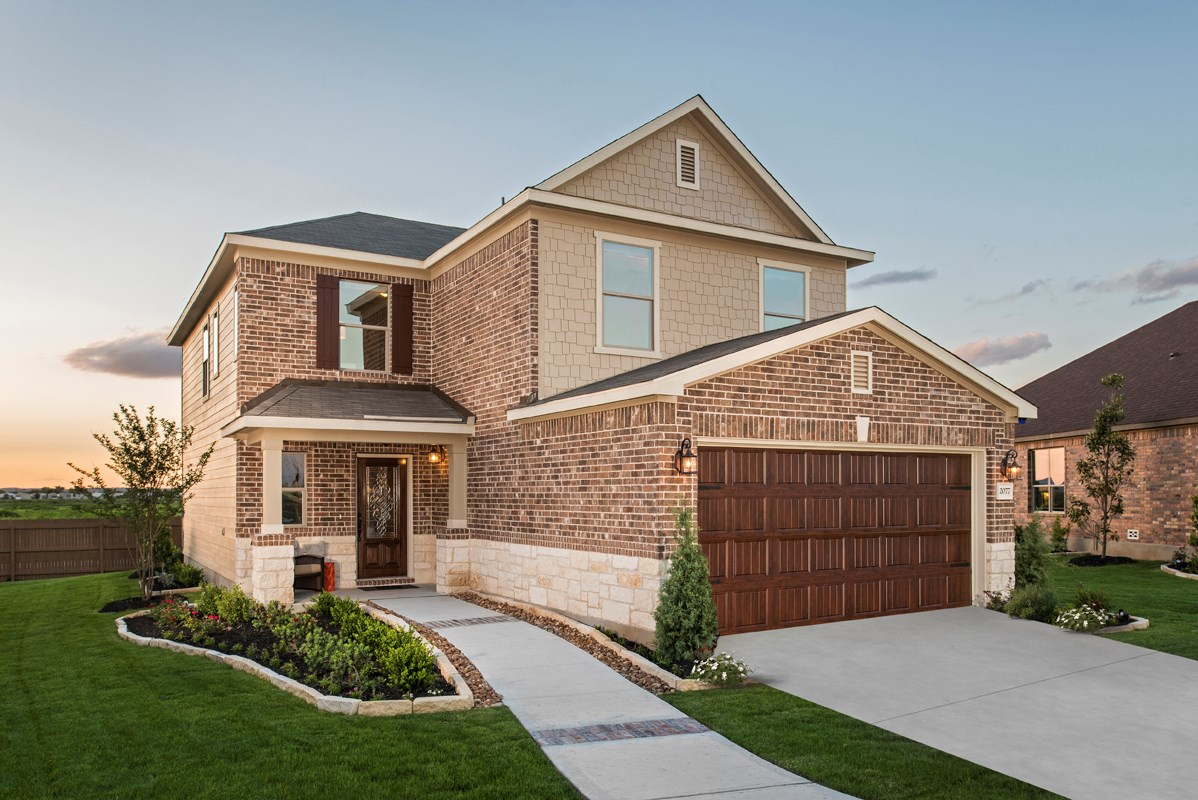 New Homes in New Braunfels, TX - West Village at Creekside - Heritage Collection The 2239