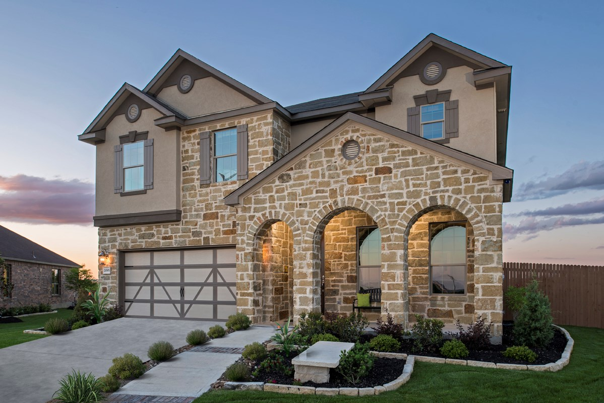New Homes in New Braunfels, TX - West Village at Creekside - Classic Collection The 3125