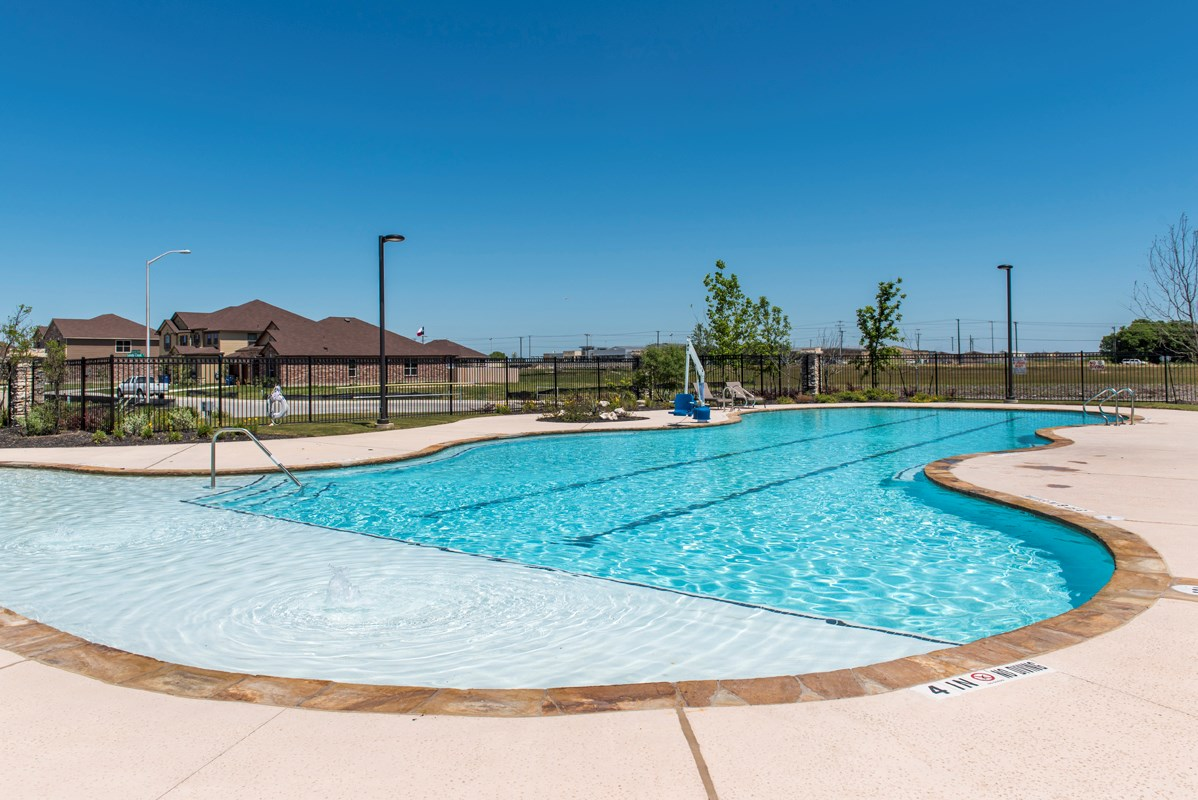 New Homes in New Braunfels, TX - West Village at Creekside - Classic Collection Community Amenity Center