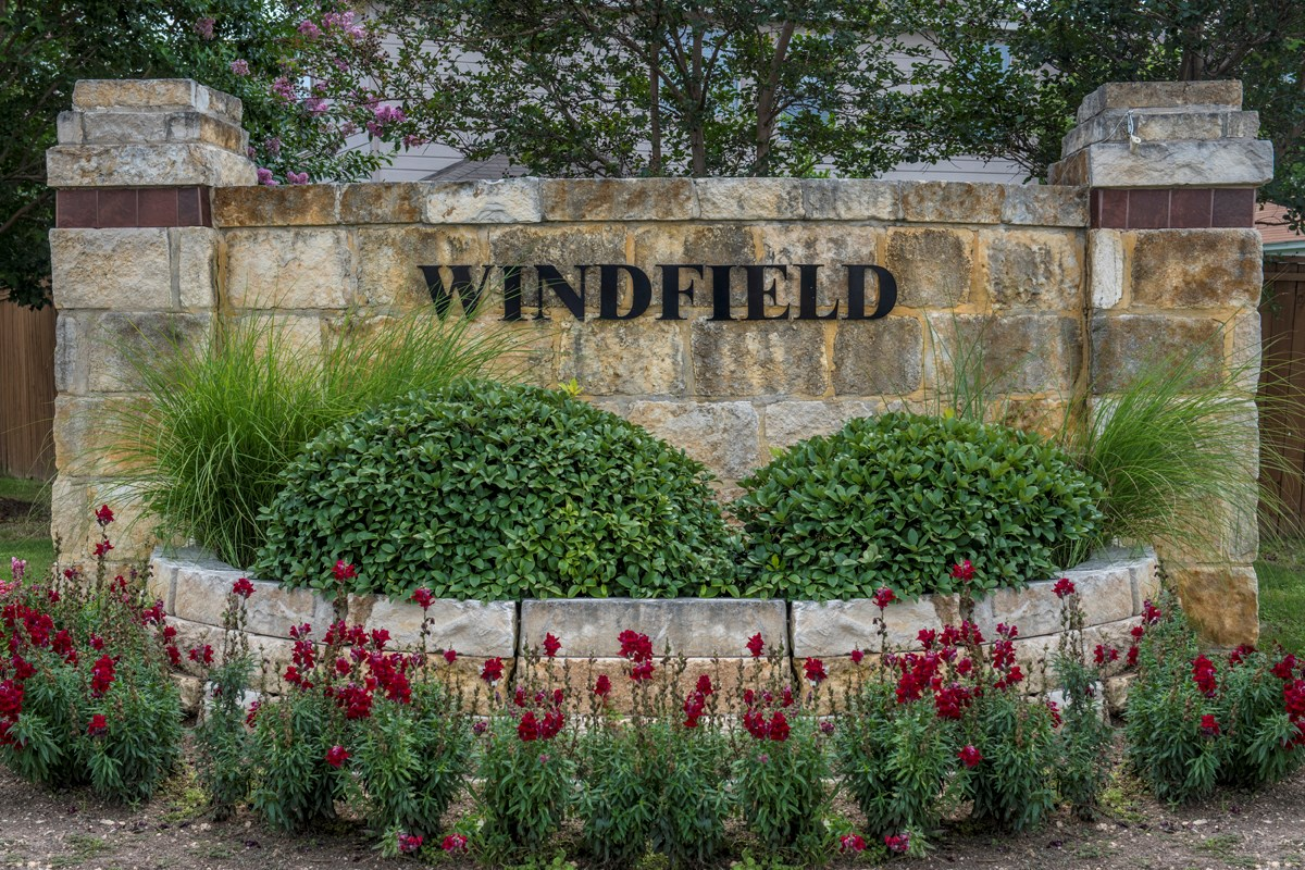 New Homes in Converse, TX - Windfield Community Entry