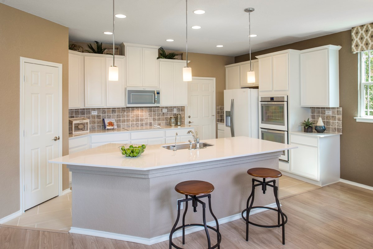 New Homes in Converse, TX - Windfield The 2403 Kitchen