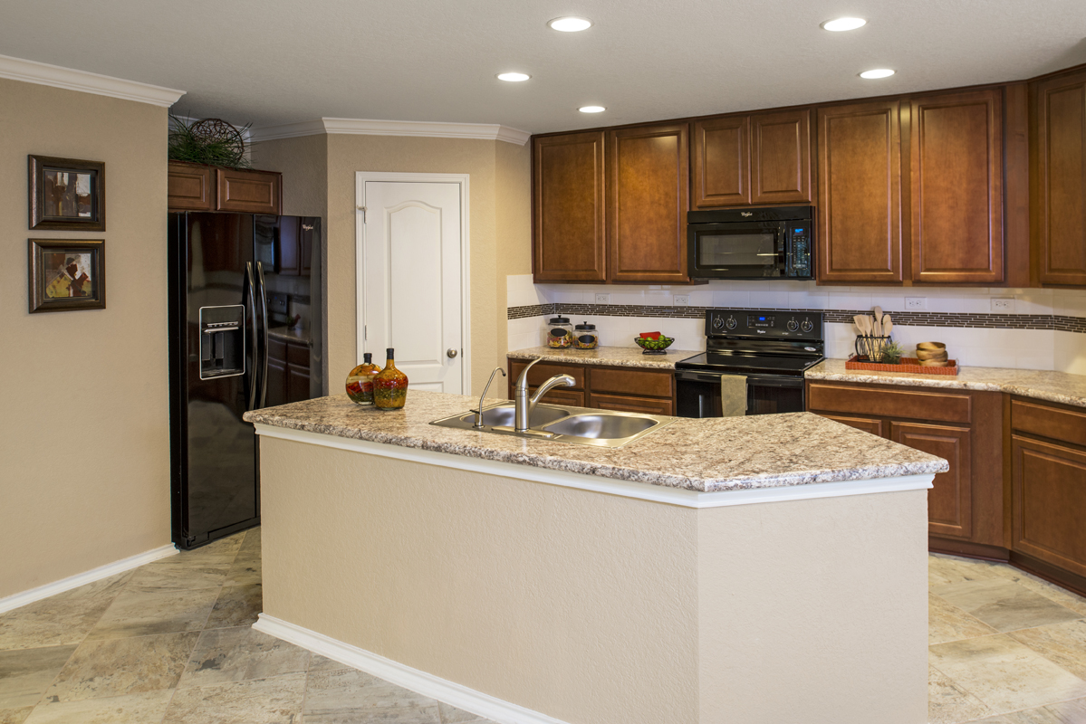 New Homes In Converse, TX   Windfield The 1694 Kitchen