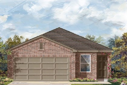 New Homes in Temple, TX - PLan F-1585 C