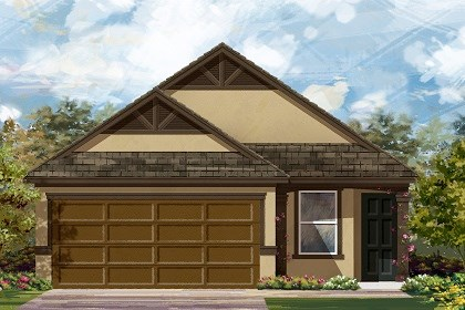 New Homes in Temple, TX - PLan F-1585 D