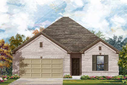 New Homes in Temple, TX - Plan A-1675 1