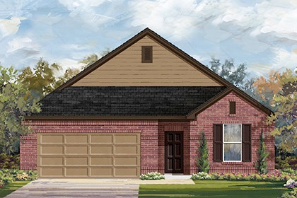 New Homes in Temple, TX - Plan A-1996 1