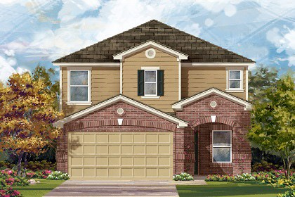 New Homes in Temple, TX - Plan F-2411 C
