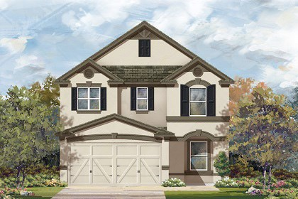 New Homes in Temple, TX - Plan F-2411 D