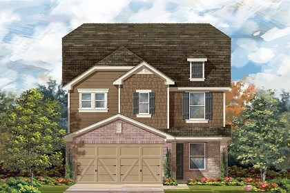 New Homes in Temple, TX - Plan F-2411 E
