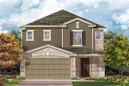 New Homes in Temple, TX - Plan F-2495 C