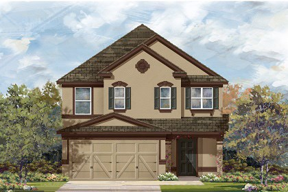 New Homes in Temple, TX - Plan F-2495 D