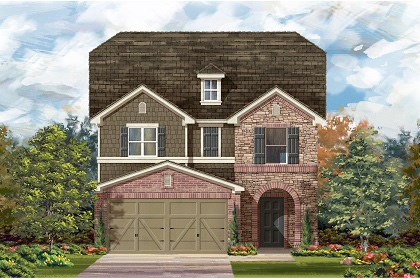 New Homes in Temple, TX - Plan F-2495 E