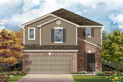 New Homes in Temple, TX - F-2604 C