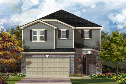 Plan F 2708 Modeled New Home Floor Plan In Village Of Sage Meadows By Kb Home