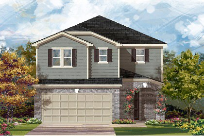 New Homes in Temple, TX - Plan F-2708 C