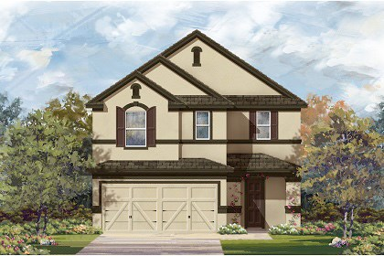 New Homes in Temple, TX - Plan F-2708 D