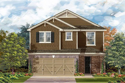 New Homes in Temple, TX - Plan F-2708 E