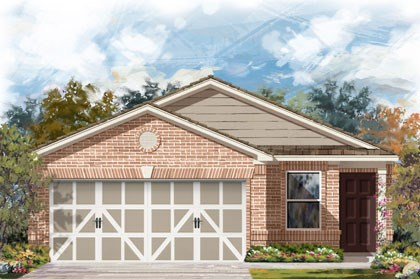 New Homes in Temple, TX - Plan F-1315 C