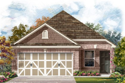 New Homes in Temple, TX - Plan F-1315 E