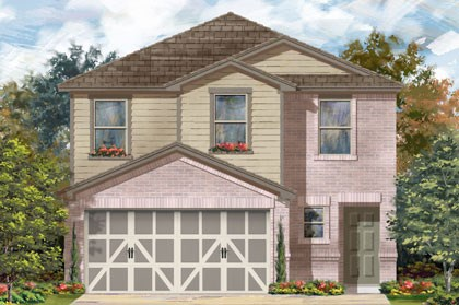 New Homes in Temple, TX - Plan F-1601 C