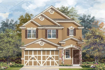 New Homes in Temple, TX - Plan F-1601 D