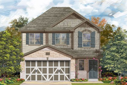 New Homes in Temple, TX - Plan F-1601 E