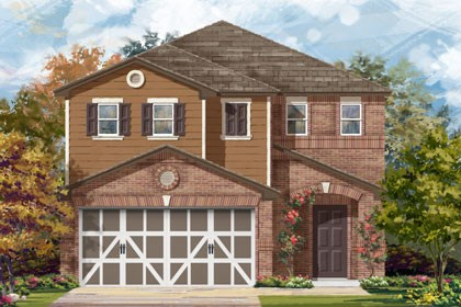 New Homes in Temple, TX - Plan F-1771 C