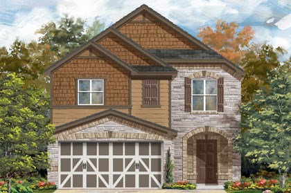 New Homes in Temple, TX - Plan F-1771 E