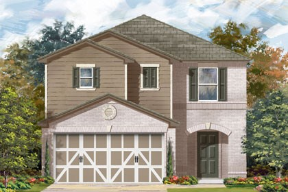 New Homes in Temple, TX - Plan F-2038 C