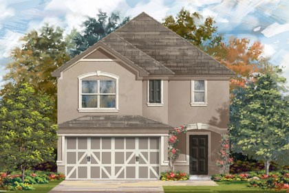 New Homes in Temple, TX - Plan F-2038 D