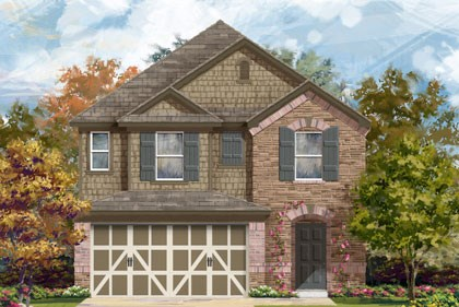 New Homes in Temple, TX - Plan F-2038 E