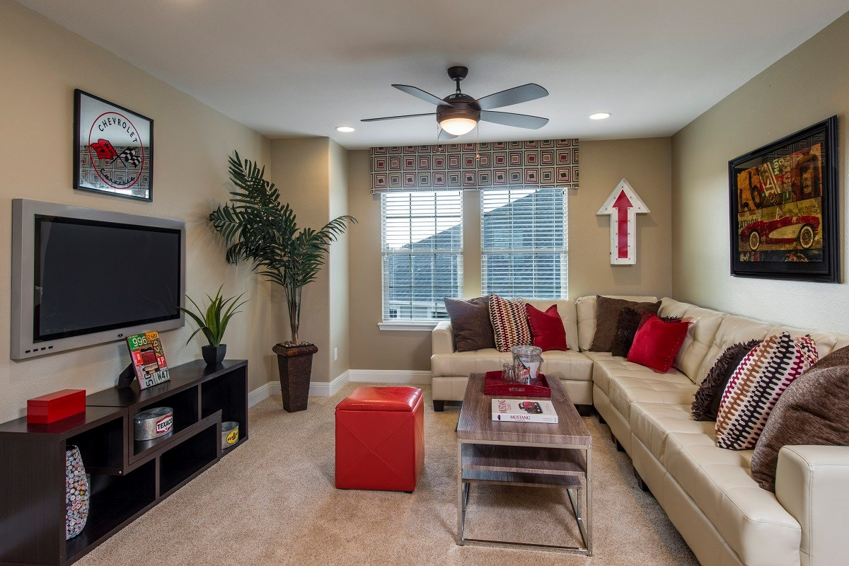 New Homes in Temple, TX - Village of Sage Meadows The F-2708 Game Room