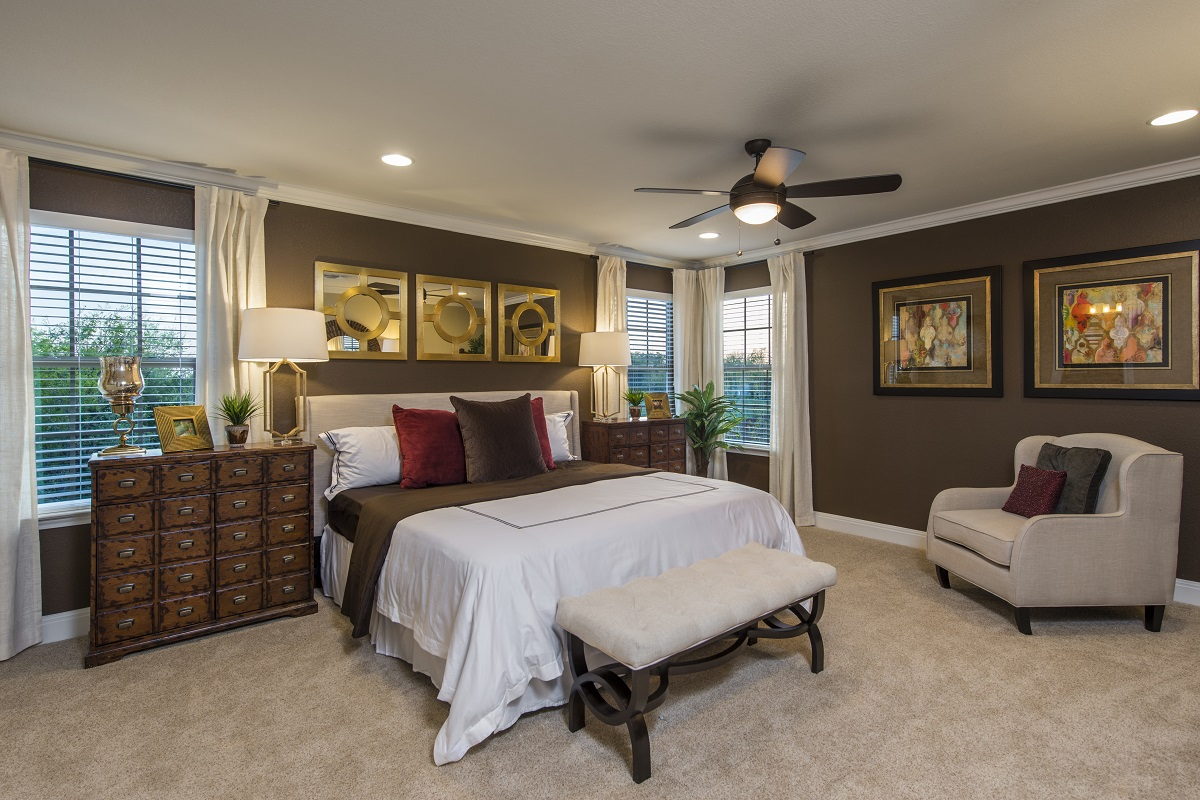 The f 2708 master bedroom for A bedroom community