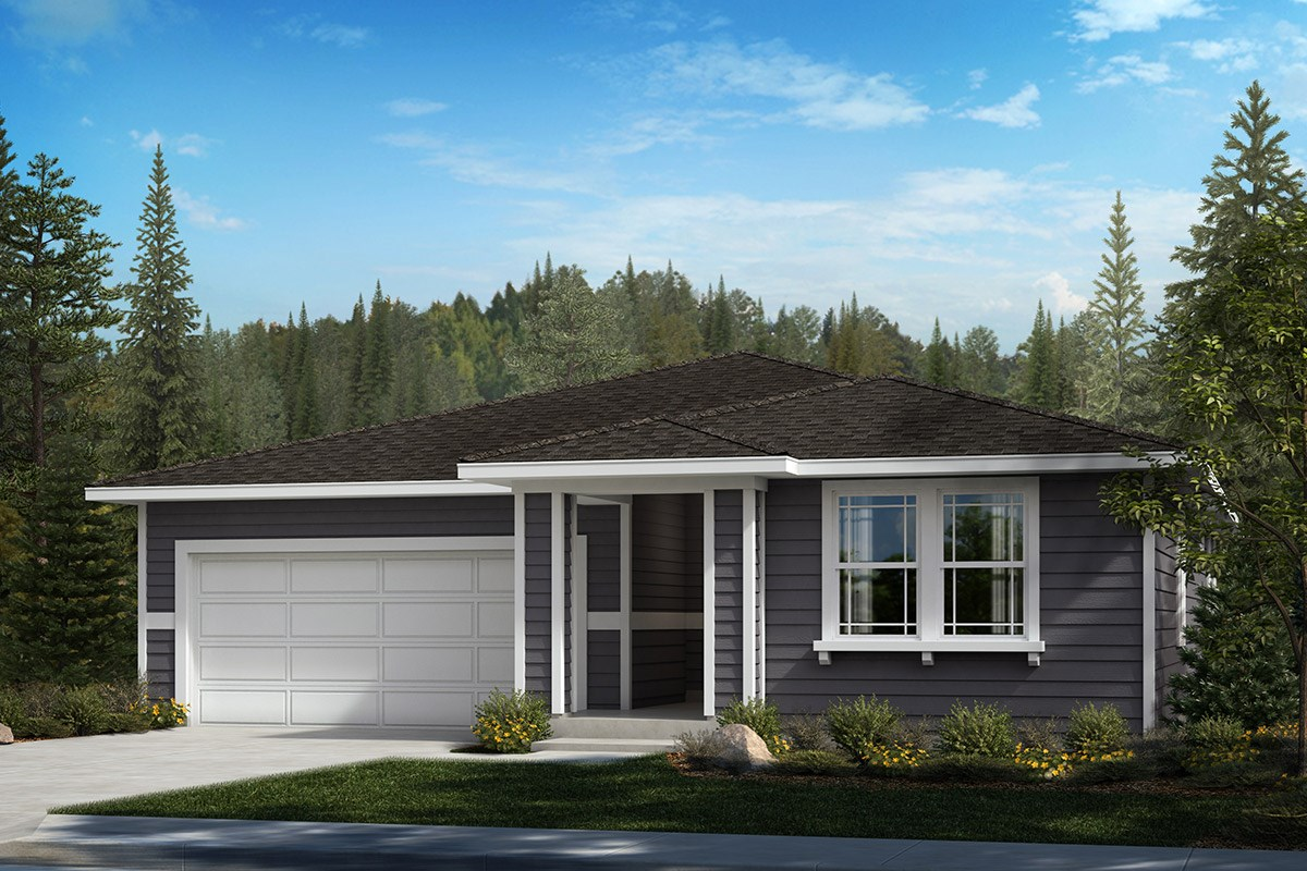 New Homes in Bonney Lake, WA - Falling Water Plan 1629