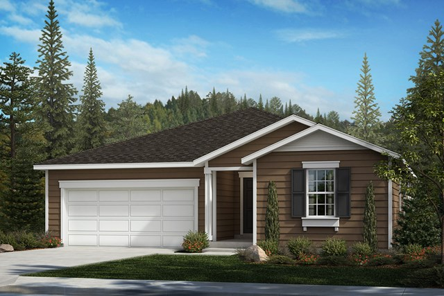 New Homes in Spanaway, WA - Federal Elevation