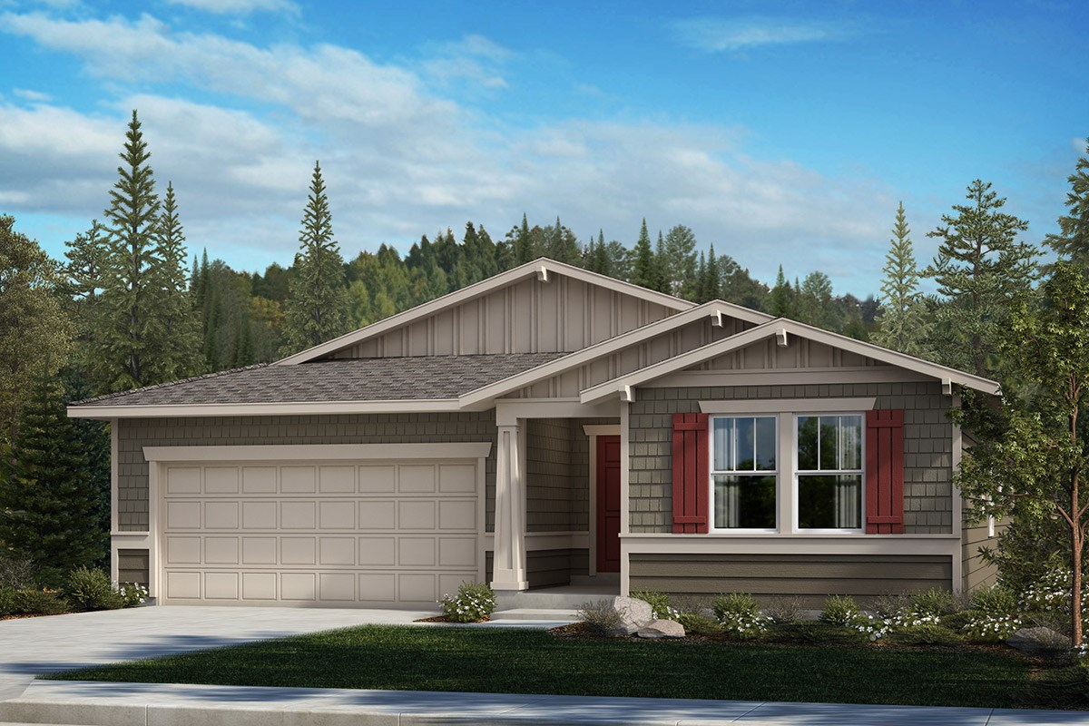 New Homes in Spanaway, WA - Cascade Vista Plan 1857