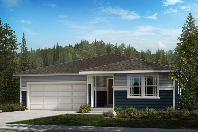 New Homes in Spanaway, WA - Prairie Elevation