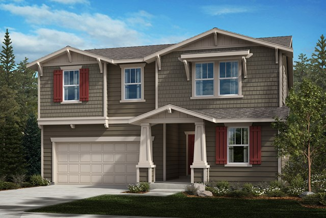 New Homes in Bonney Lake, WA - Craftsman Elevation