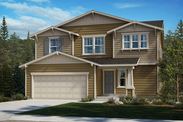New Homes in Spanaway, WA - Craftsman Elevation